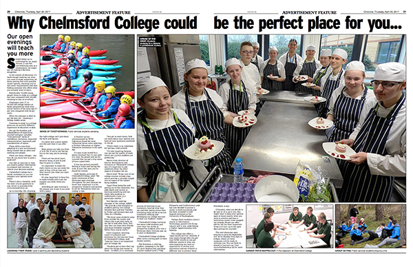 Why Chelmsford College could be the perfect place for you...